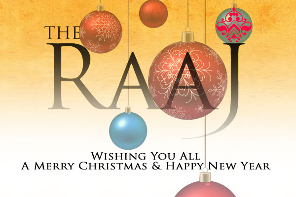 Happy Christmas From The RAAJ