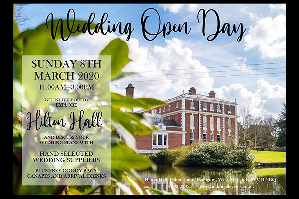 Hilton Hall Wedding Open Day