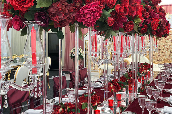 Red Theme For 2020 Wedding Season
