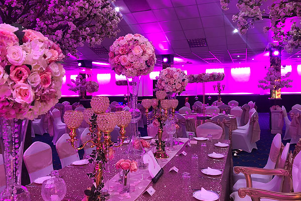 The RAAJ Samsons Banqueting Suite