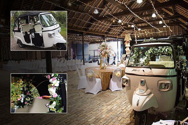 Tuk Tuk Hire For Asian Weddings