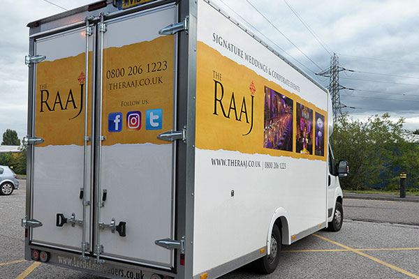 Newly Liveried RAAJ Van