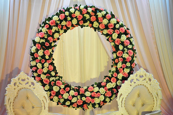 Asian Wedding Decor & Flowers