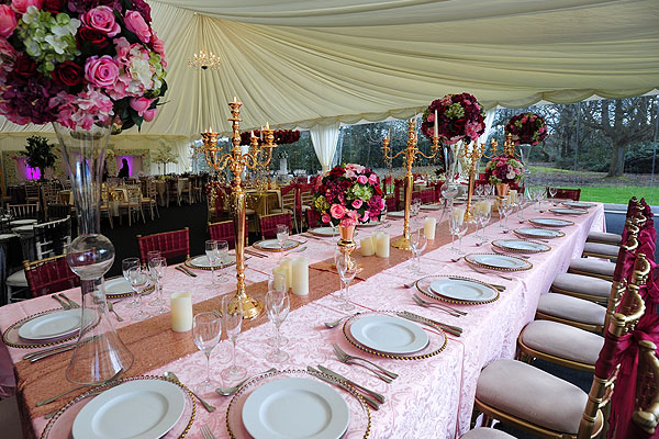 Create Stunning Wedding Tables