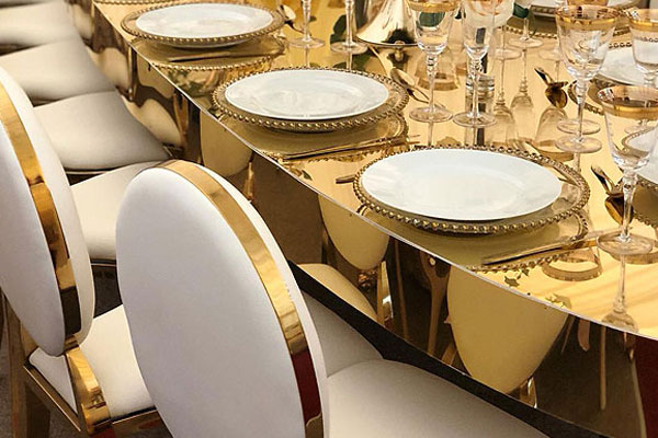 Gold Louis Chairs Hire