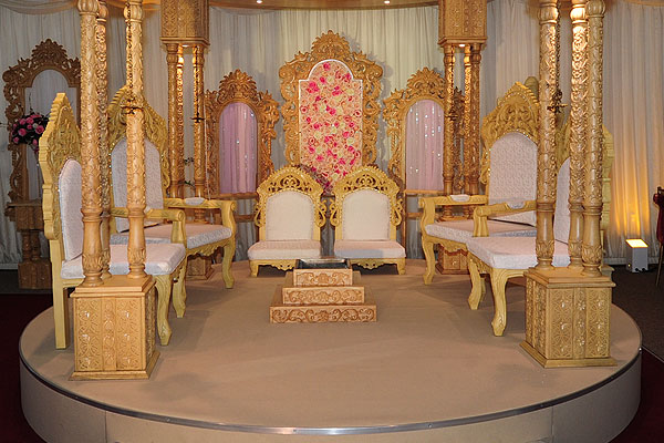 Mandap Furniture Hire For Asian Weddings