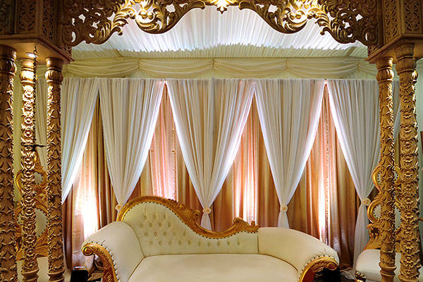 Asian Wedding Drapes