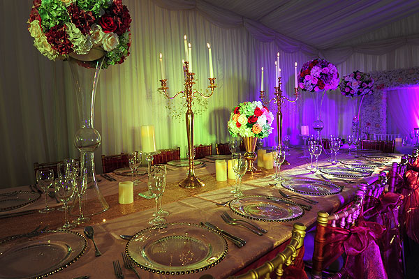 VIP Tables Asian Weddings