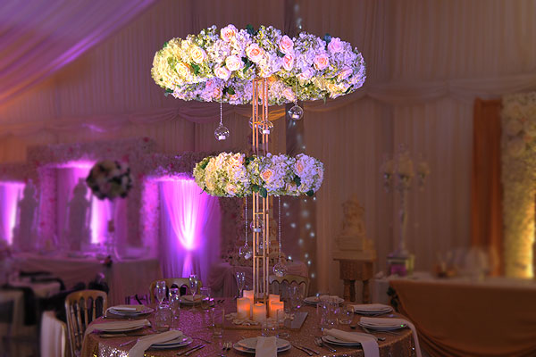 Flowered Halo Centrepiece The RAAJ