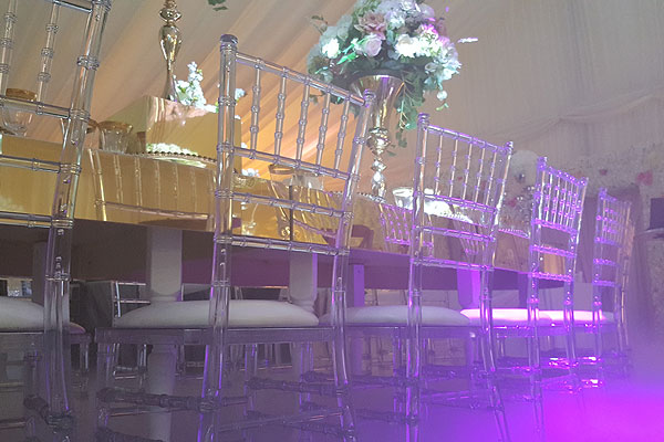 Ghost Chiavari Chairs For Weddings & Events