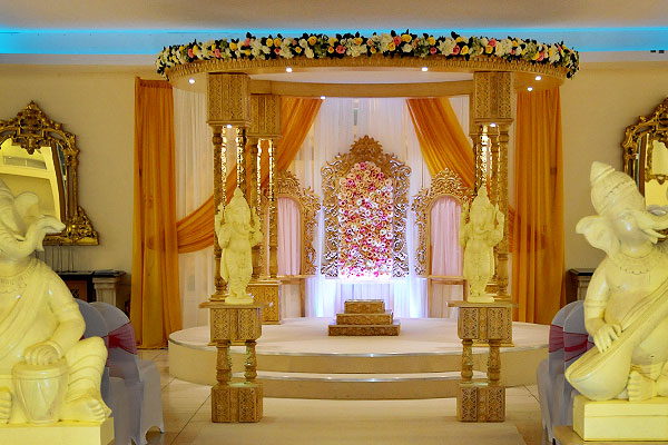 Hindu Wedding Mandap Hire The RAAJ