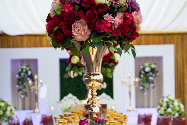 Hire Floral Centrepieces & Much More
