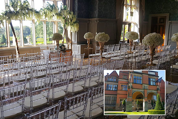 Hoar Cross Hall Staffordshire Wedding Venue Hire