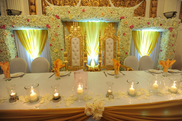 Lavish Top Tables for Weddings