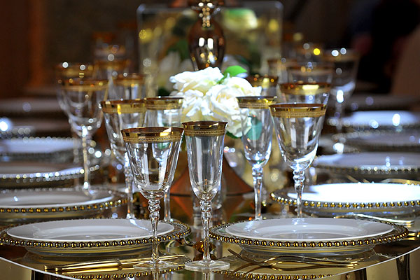 Luxury Table Settings For Weddings