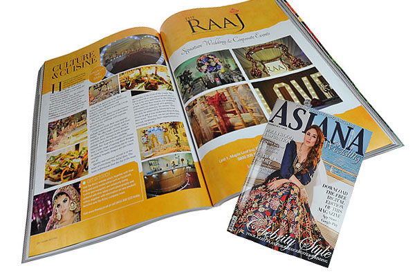 The RAAJ In Asiana Magazine