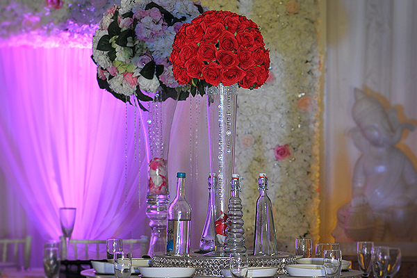 Table Centrepiece Hire Asian Weddings