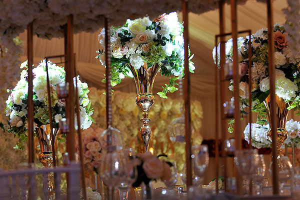Wedding Decor & Floral Centrepieces