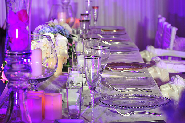 Asian Wedding Table Settings