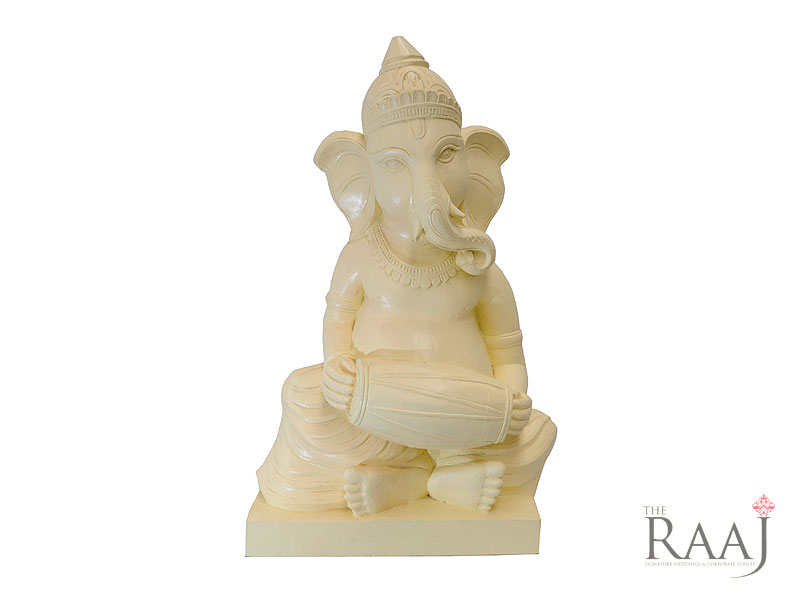 Ganesh Statue With Oval Drum Hire