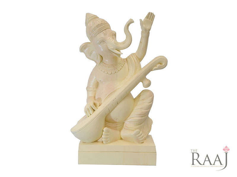 Ganesh Statue With Sitar Hire