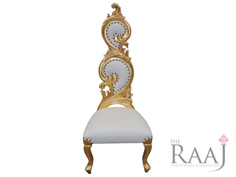 Gold Top Table Wedding Chair