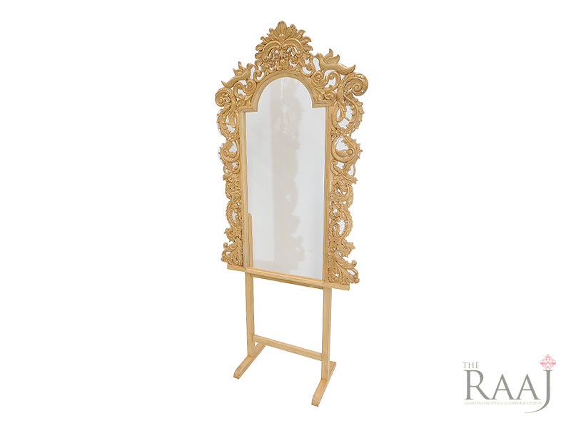 Large Hand Carved Picture Frame Hire