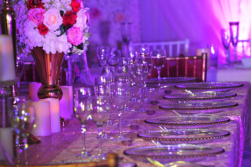 Asian Wedding Cutlery Rental The RAAJ