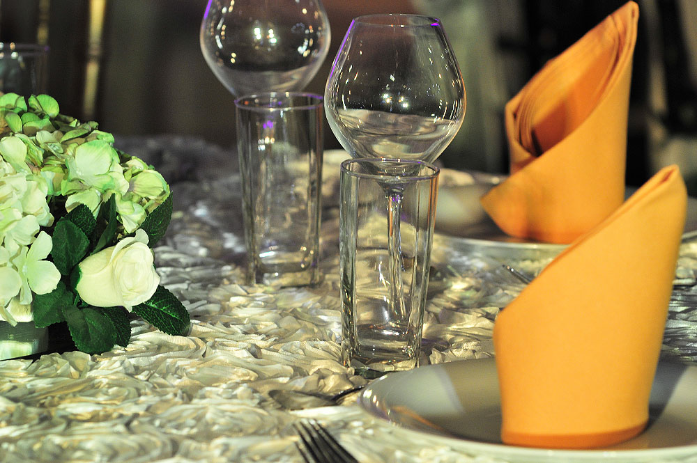 Asian Wedding Linen Rental The RAAJ