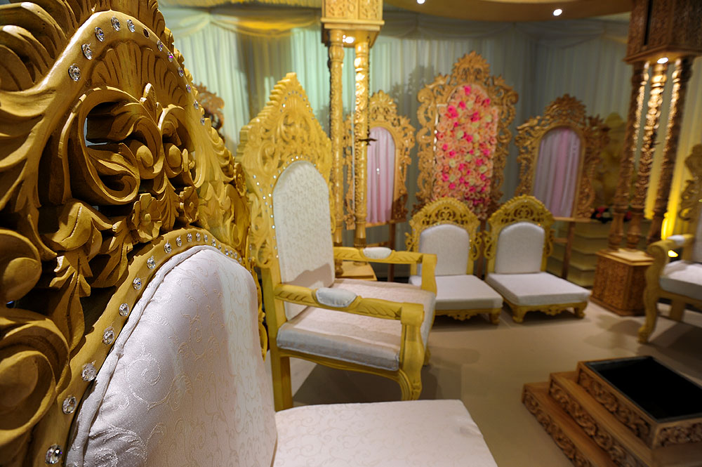 Asian Wedding Mandap Furniture Rental