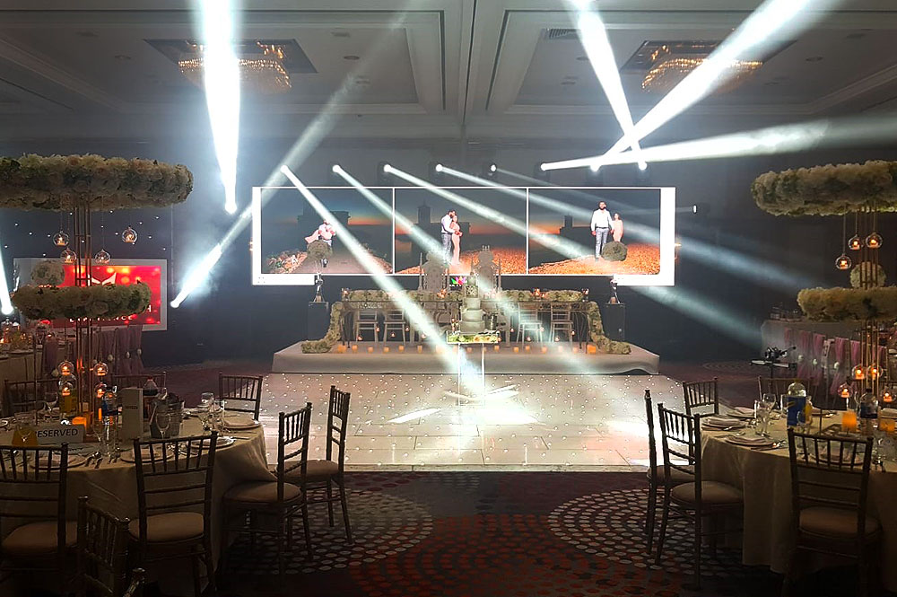 Asian Wedding Dance Floor Hire