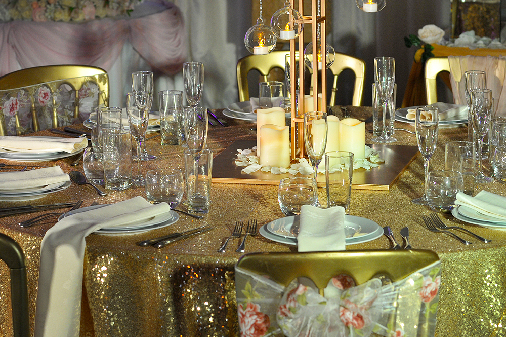 Asian Wedding Glass Hire