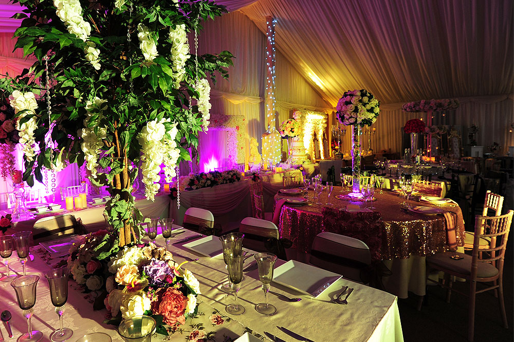 Wedding Flower Decoration For Table Stages The Raaj Uk