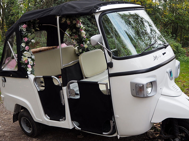 Asian Wedding Tuk Tuk Hire