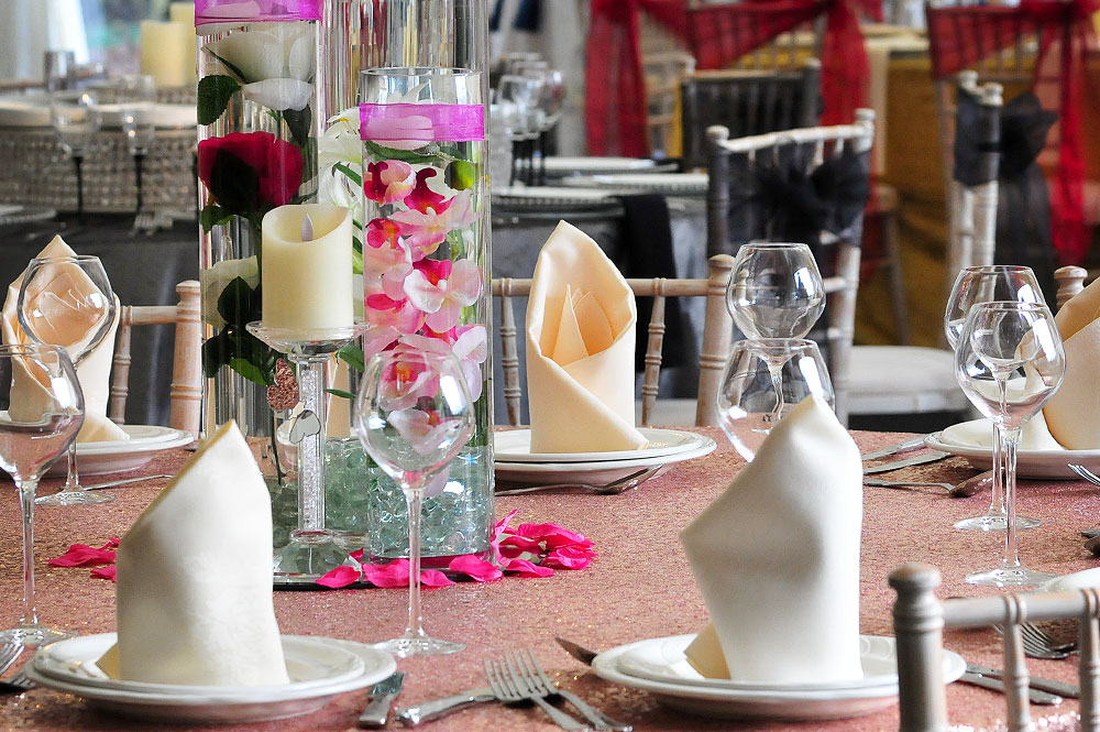 Asian Weddings Tablecloth Hire