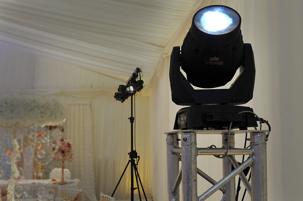Asian Wedding AV Equipment Hire The RAAJ