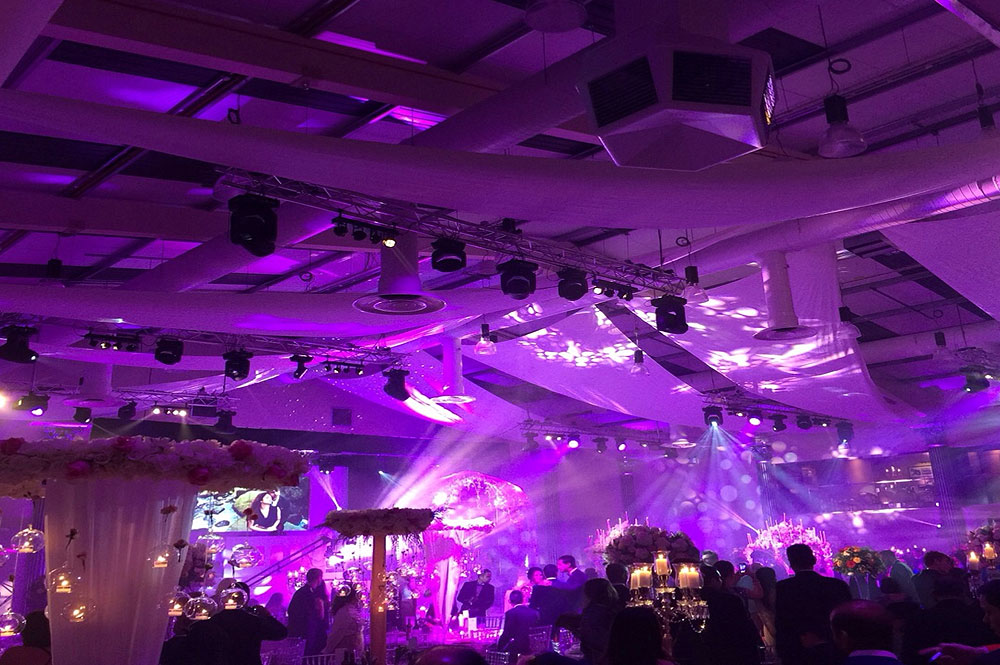 Asian Wedding Lighting Rigging Hire The RAAJ