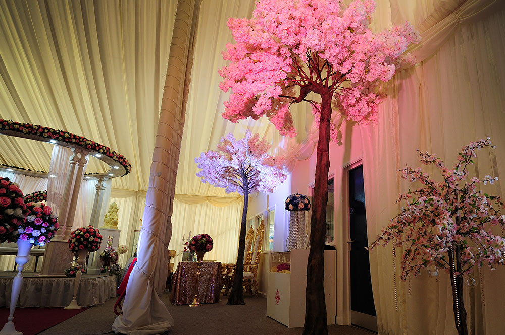 Blossom Tree Event Decor The RAAJ Asian Weddings