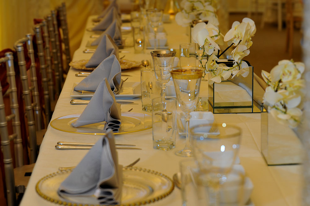 Crockery Hire The RAAJ Weddings
