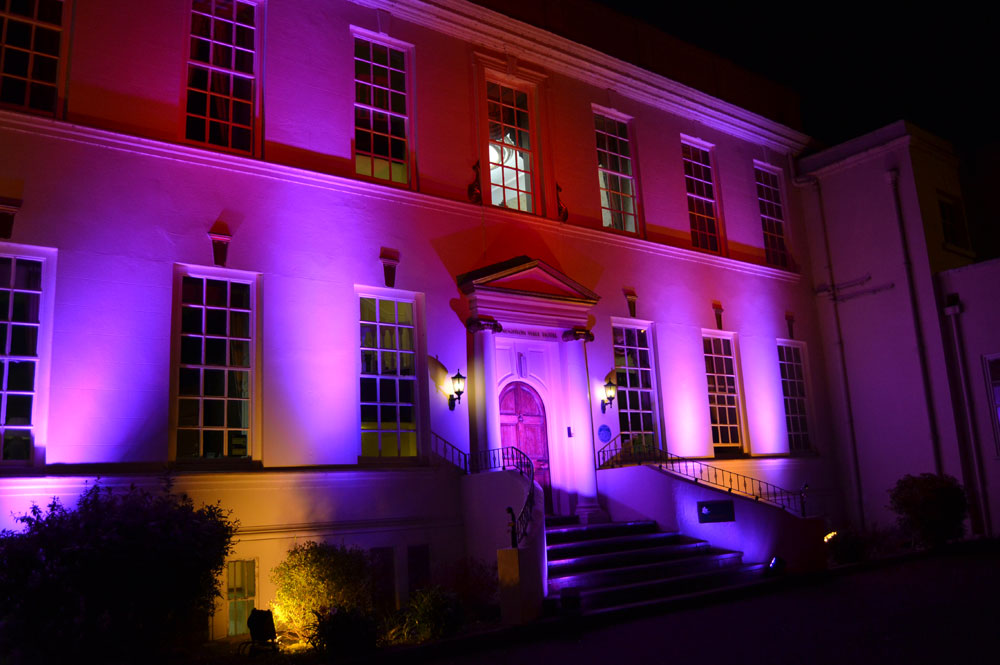External Lighting For Wedding Venues