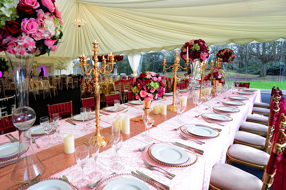 Family Table For Asian Wedding RAAJ