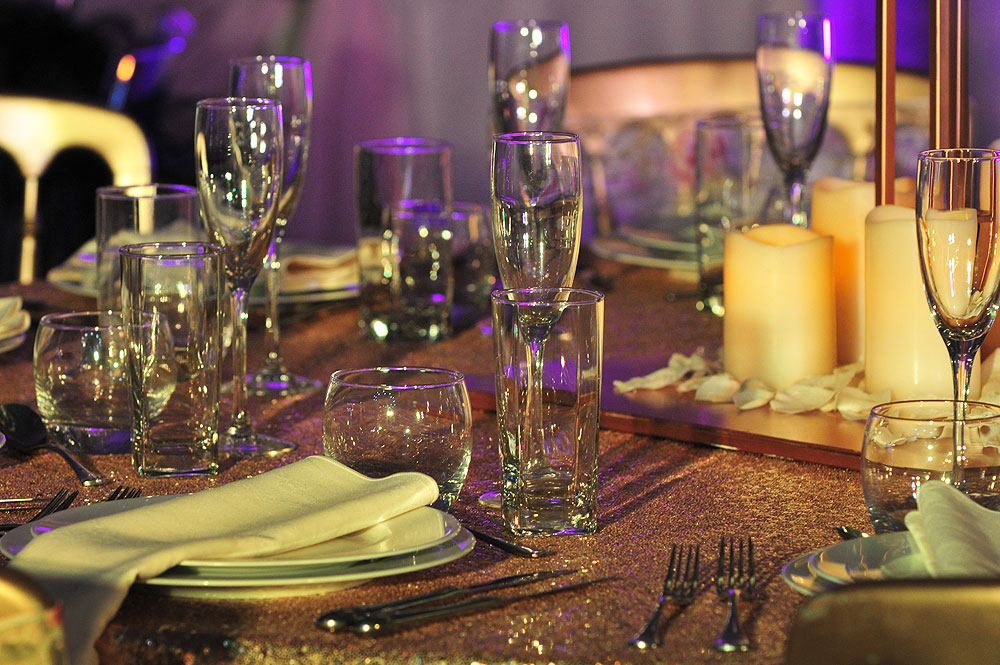 Glassware Hire Asian Weddings
