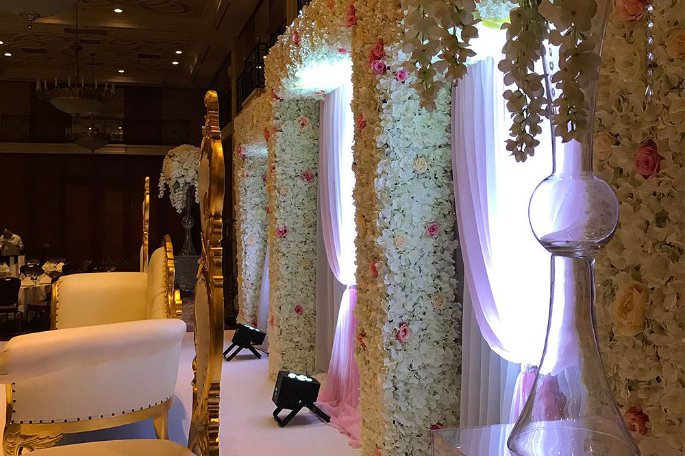 Hire Asian Wedding Backdrop