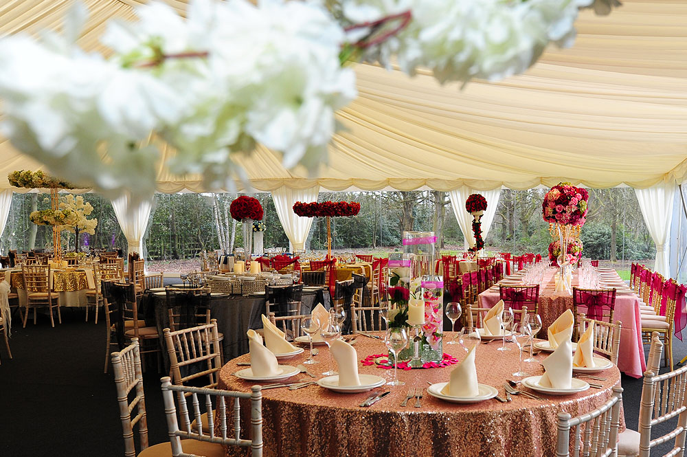 Round Wedding Table Hire