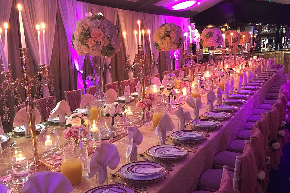 Special Asian Wedding Tables