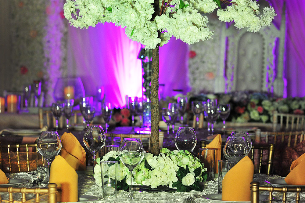Table Hire For Asian Wedding
