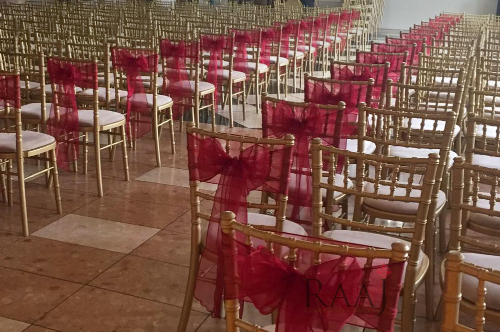 The RAAJ Chiavari Chair Hire