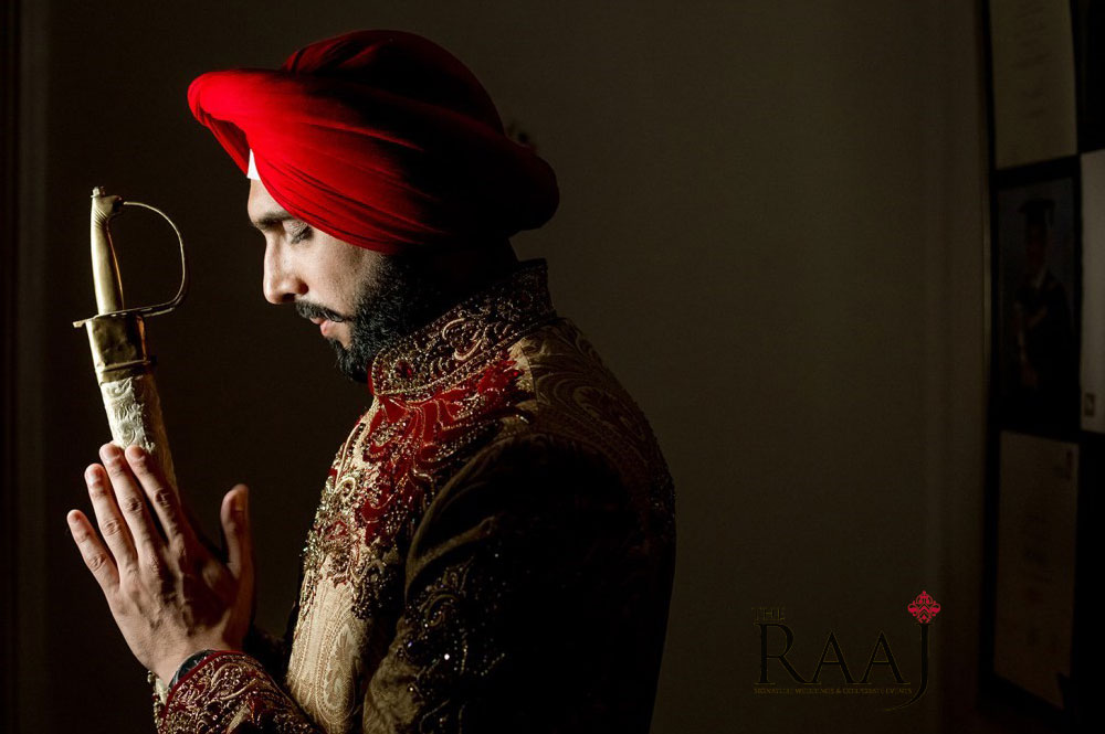 The RAAJ Turban Tying Service