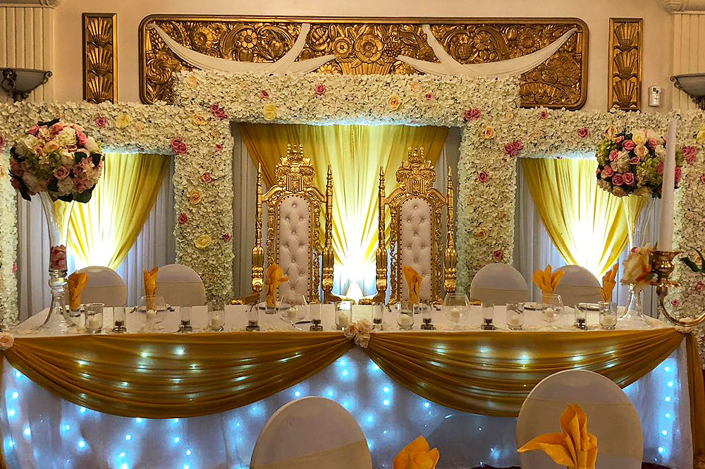 Wedding Backdrop Hire Asian Weddings