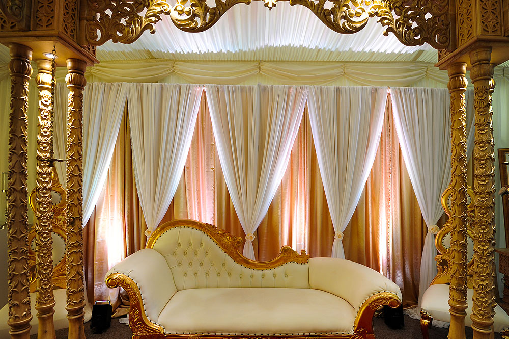 Wedding Drapes Hire The RAAJ